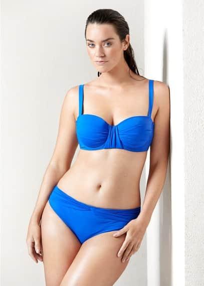 Bikini empiècement drapé | VIOLETA BY MANGO