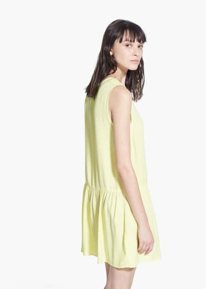 Cut-out detail dress | MANGO