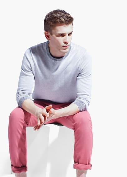 Jersey algodón delavado | MANGO MAN