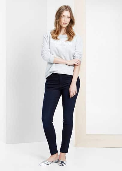 Super slim fit jeans silvia | VIOLETA BY MANGO