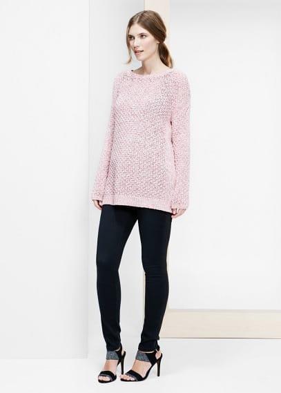Textured sweater | VIOLETA BY MANGO