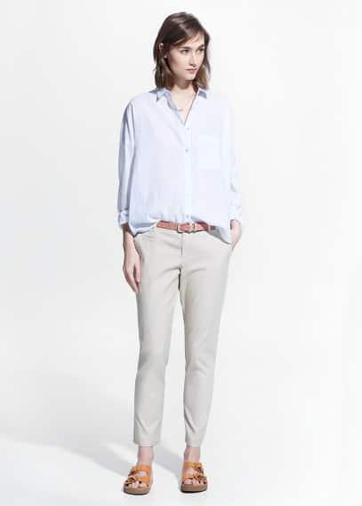 Pantalón chino algodón | MANGO