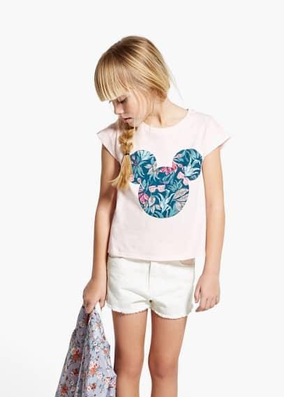 Glitter disney t-shirt | MANGO KIDS