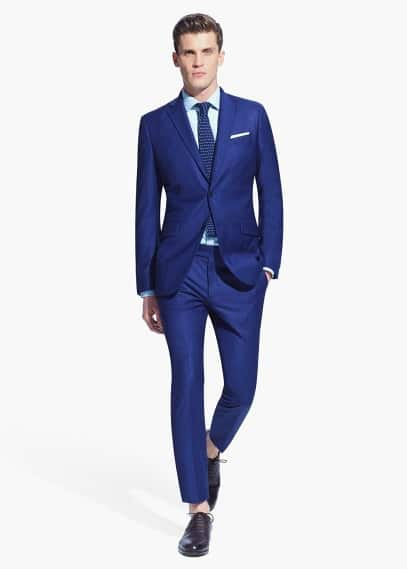 Slim-fit colbert | MANGO MAN