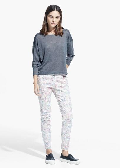 Pantalón estampado | MANGO