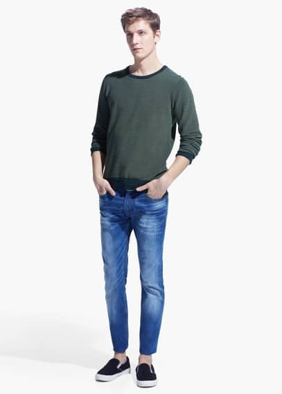 Jude skinny jeans met medium wassing | MANGO MAN