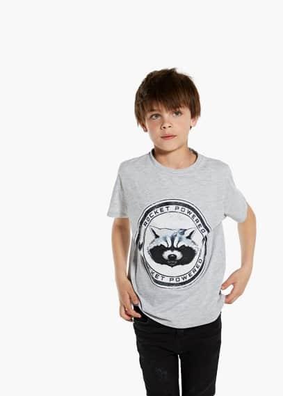 Marvel print t-shirt | MANGO KIDS