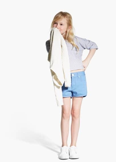 Cotton shorts | MANGO KIDS