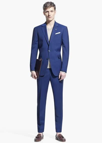 Slim-fit Triana suit
