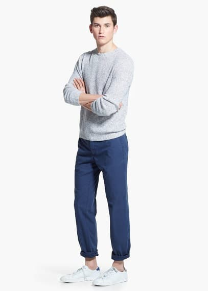 Slim-fit cotton chinos | MANGO MAN