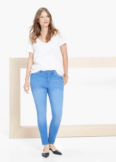 Super slim-fit vladi jeans | VIOLETA BY MANGO