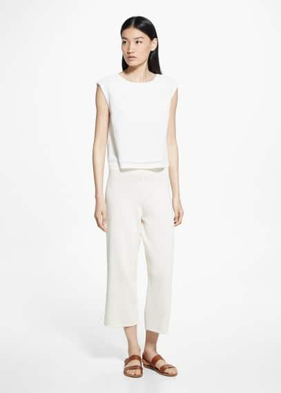 Cotton culottes | MANGO