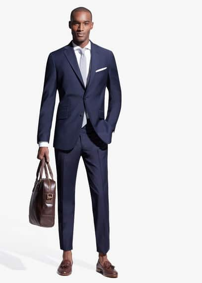 Traje basilio slim-fit | MANGO MAN