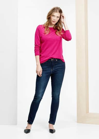 Round neck sweater | VIOLETA BY MANGO