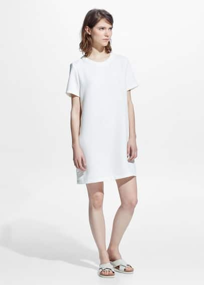 Vestido minimal | MANGO