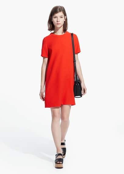 Minimal dress | MANGO