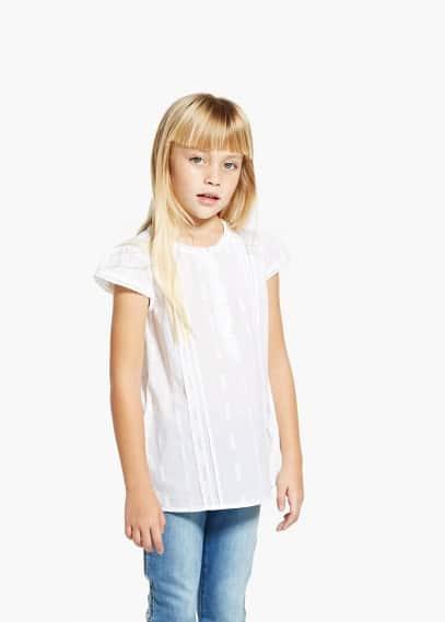 Camisa bordados | MANGO