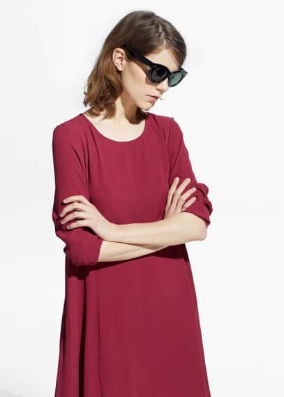 Flared dress | VIOLETA BY MANGO
