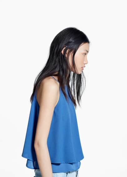Double layer top | MANGO