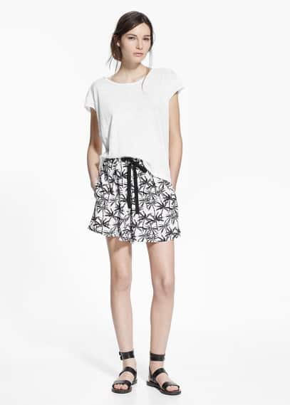 Printed shorts | MANGO