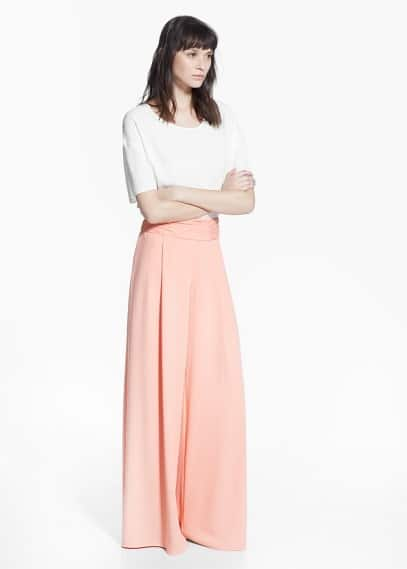 Country specials - palazzo trousers | MANGO