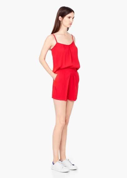 Soepelvallende shorts | MANGO