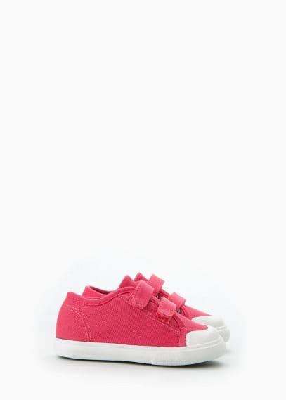 Unisex-sneaker aus baumwolle   MANGO KIDS