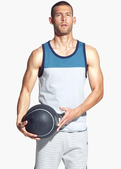 Training tank top | MANGO MAN