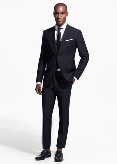 Slim-fit basela suit | MANGO MAN