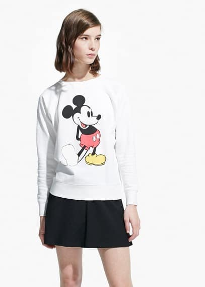 Cartoon cotton sweatshirt | MANGO