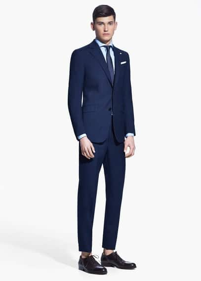 Classic-fit triana suit | MANGO MAN
