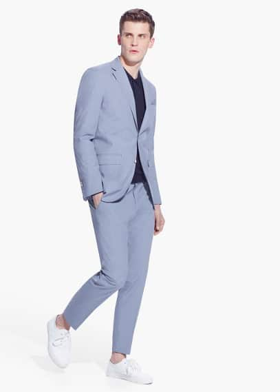 Ultra lightweight cotton ermo suit | MANGO MAN