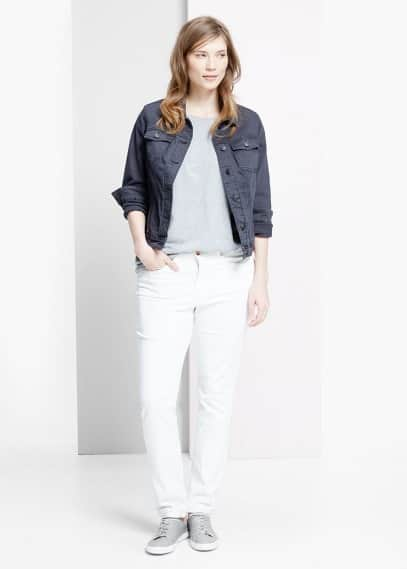 Denim jacket | VIOLETA BY MANGO
