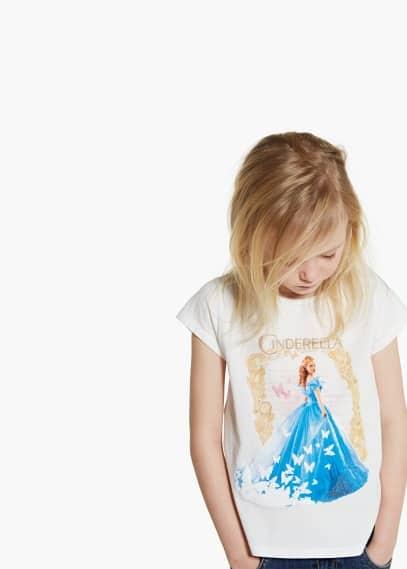 Cinderella t-shirt | MANGO KIDS