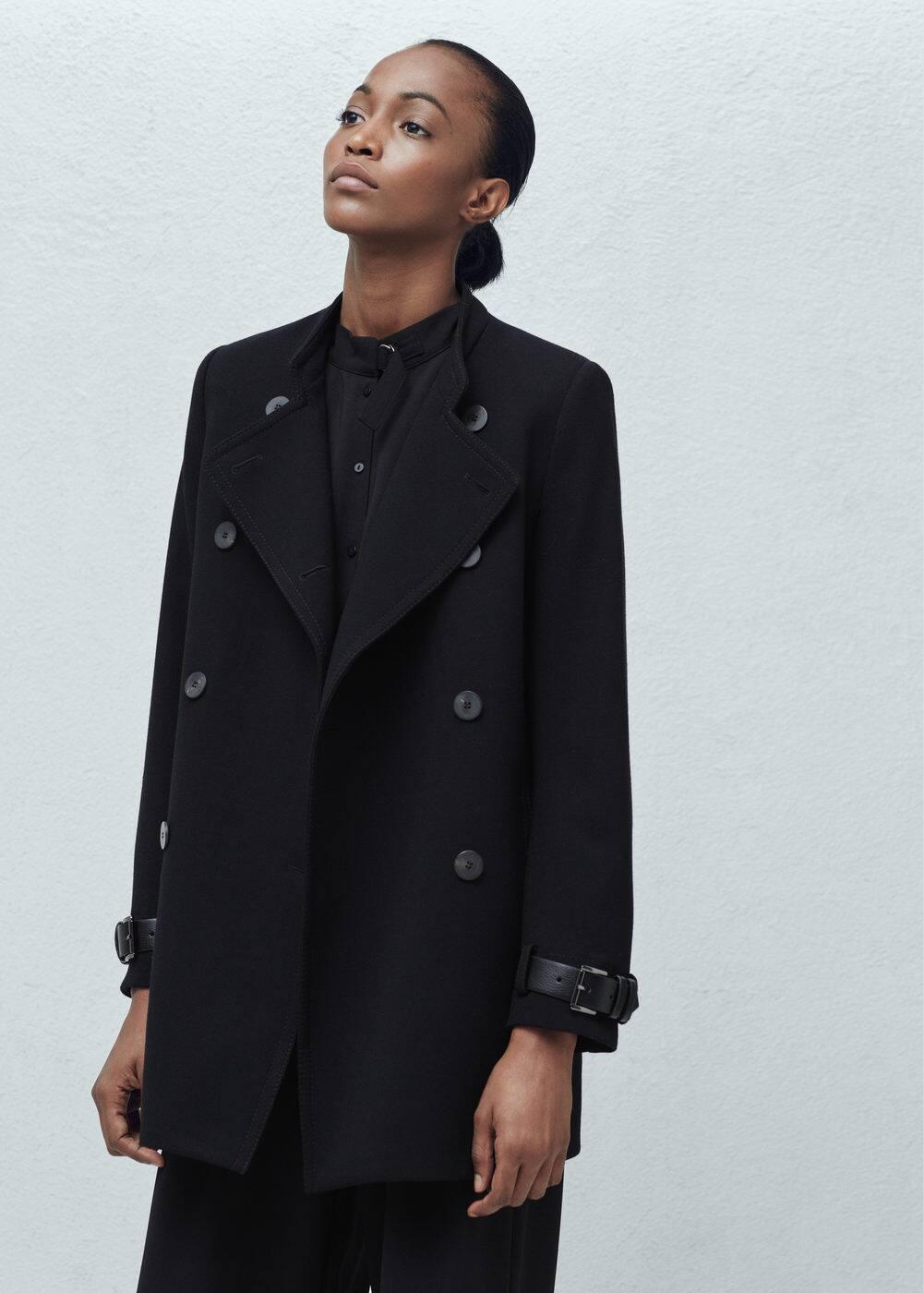 Dwurzędowy płaszcz | MANGO