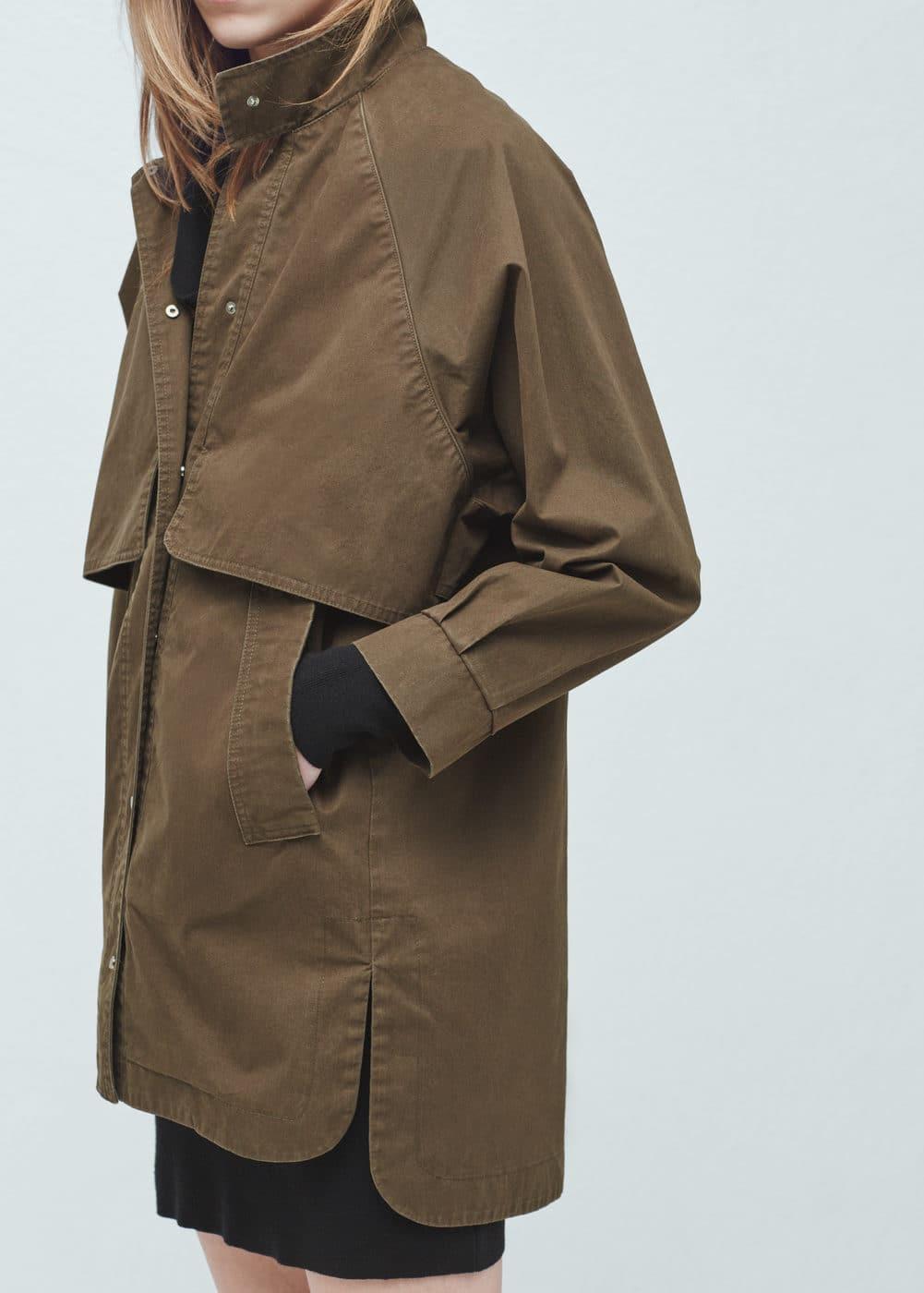 Bawełniana kurtka | MANGO