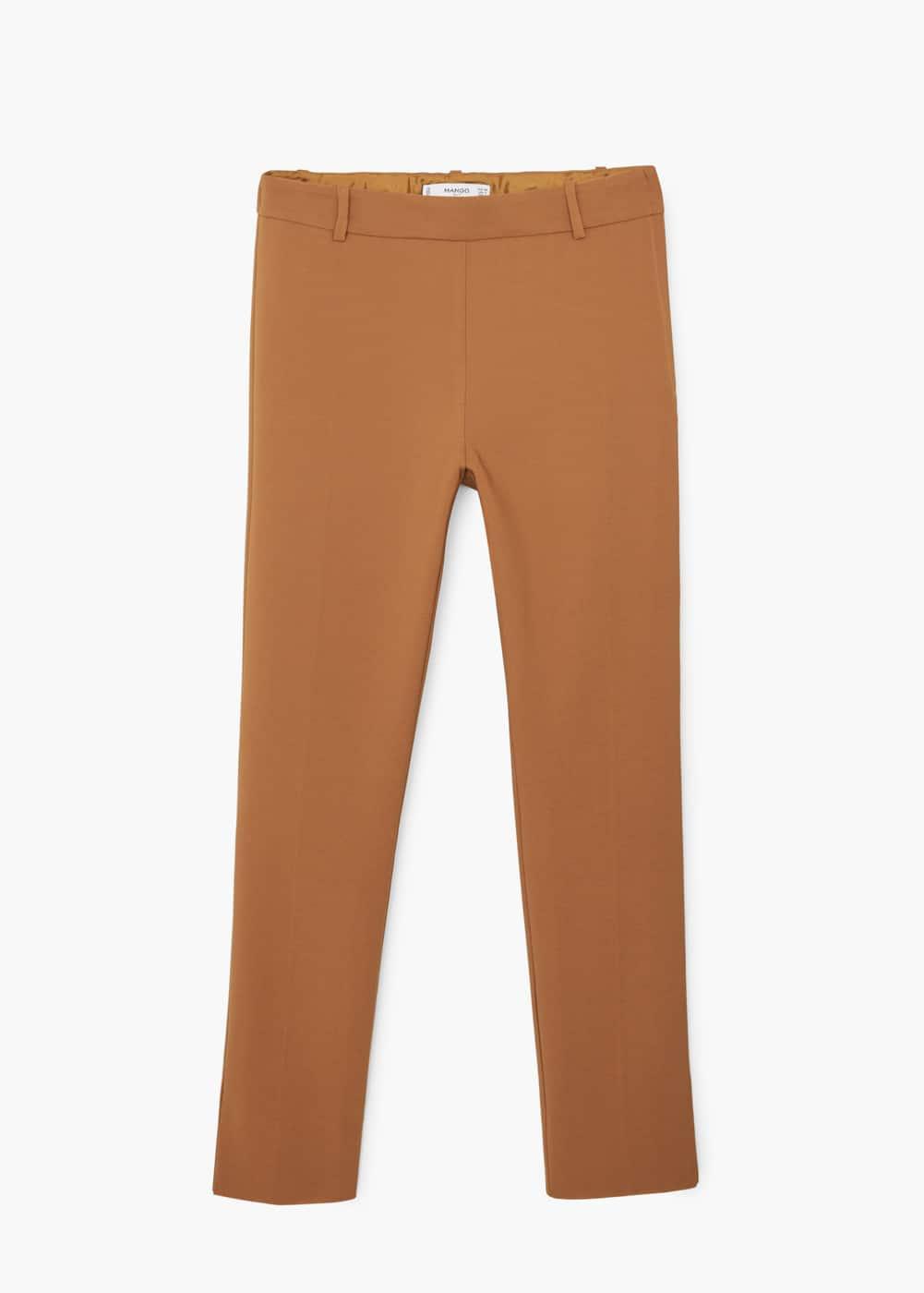 Slim-fit trousers   MANGO