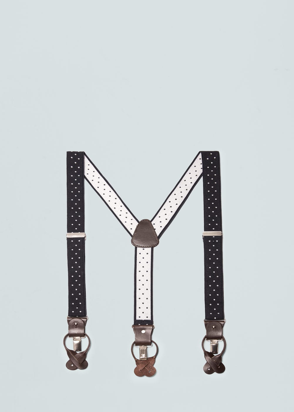 Adjustable elastic braces | MANGO