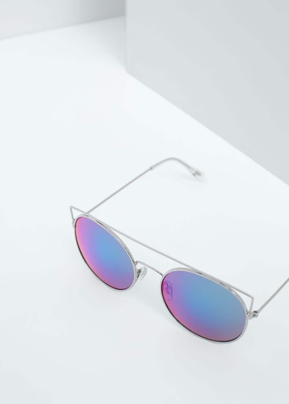 Okulary przeciwsłoneczne lustrzane szkła | MANGO