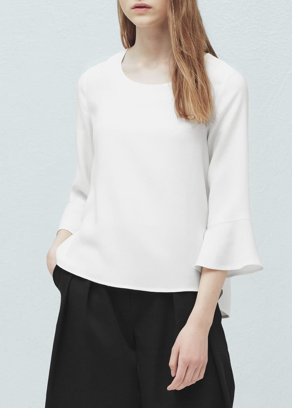 расклешенная блузка с доставкой