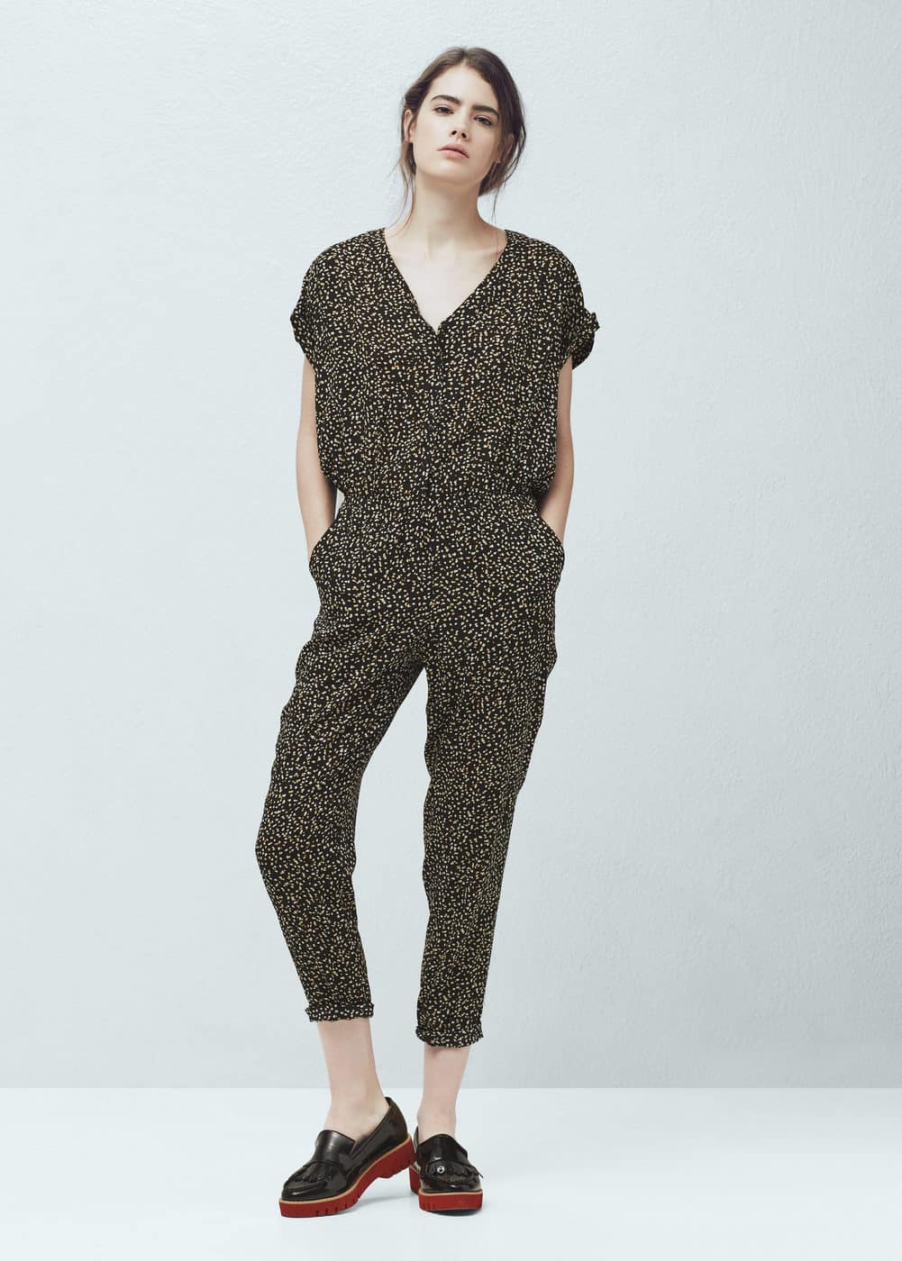 New MANGO Relaxed Jumpsuit  ShopStylecouk Women