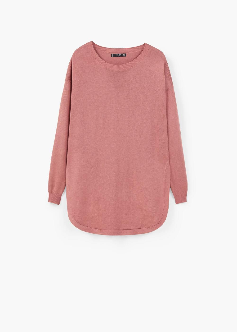 Cienki sweter oversize   MANGO