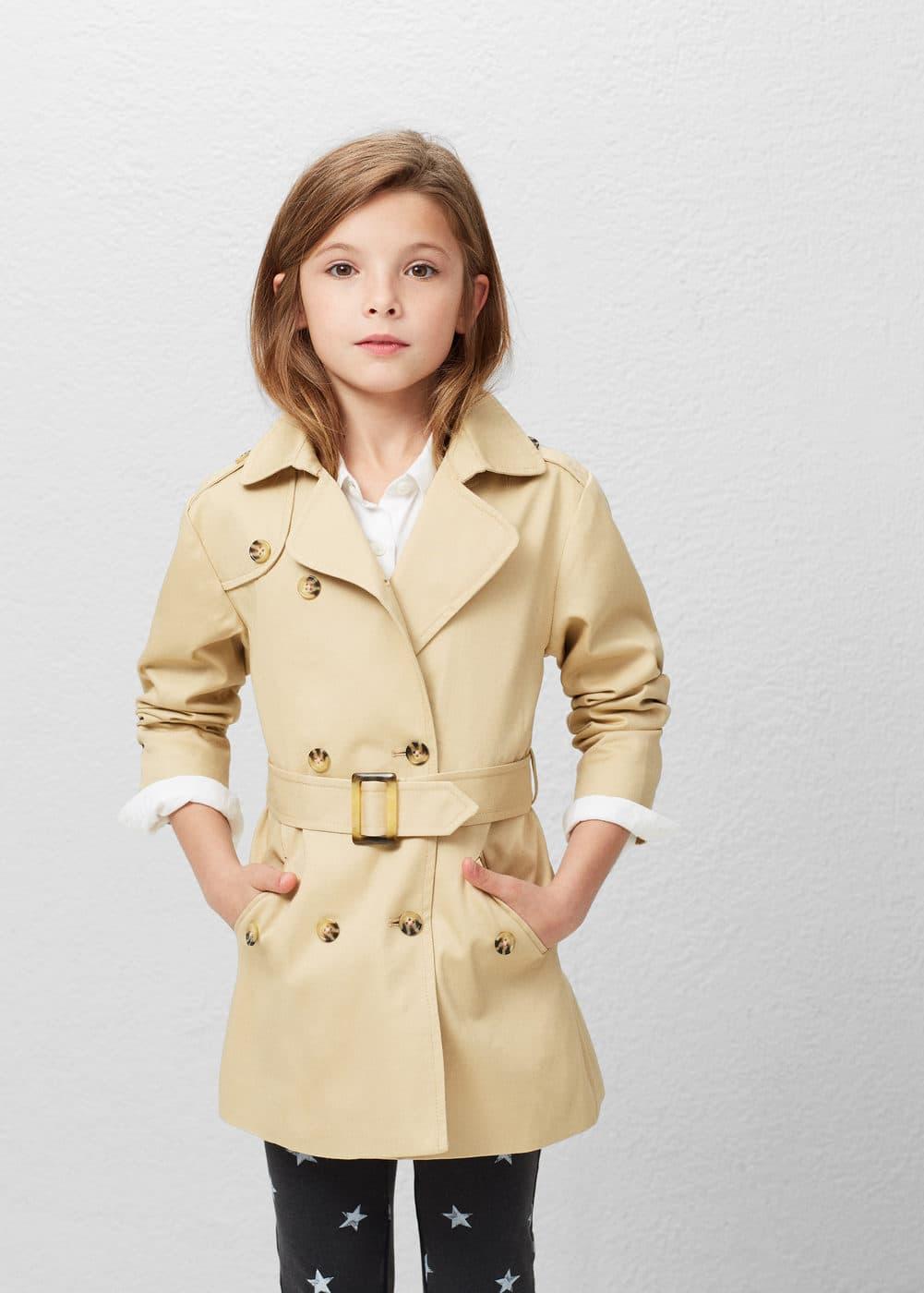 Classic cotton trench coat | MANGO