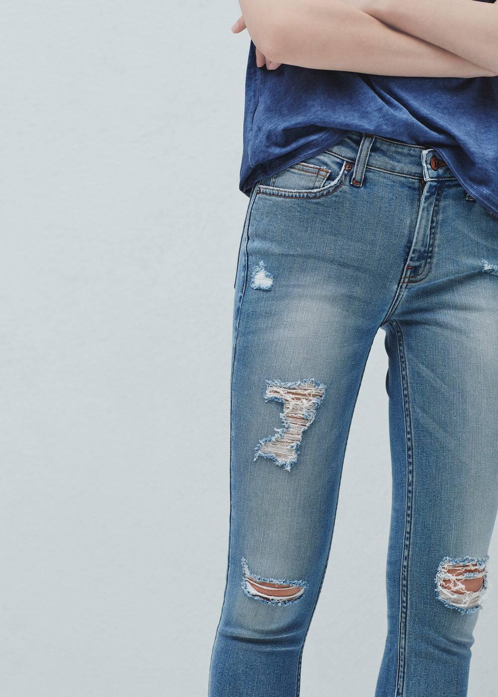 Jean skinny crop isa | MANGO