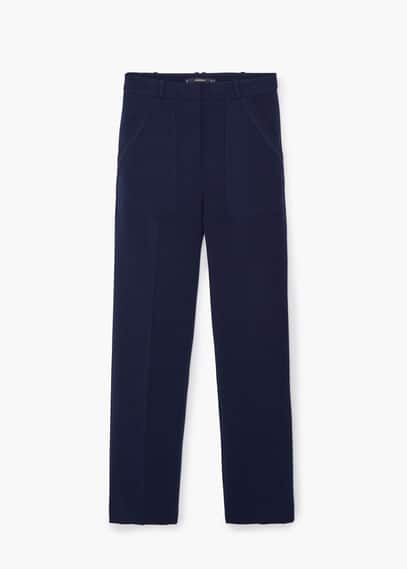 Pantalon poches plaquées | MANGO
