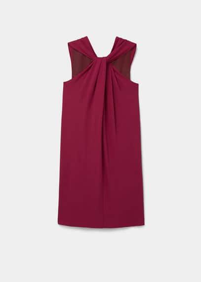Vestido asimétrico | VIOLETA BY MANGO