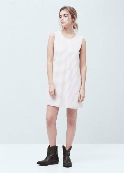 Cord textured dress | MANGO