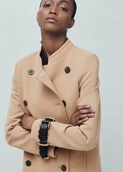 Manteau à double boutonnage | MANGO