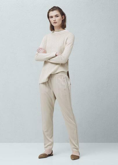 Trim baggy trousers | MANGO