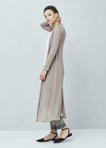 Long cardigan | MANGO